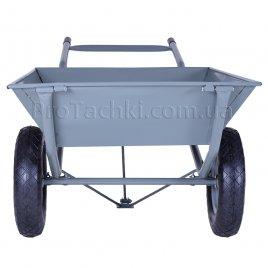 Тачка строительная двухколесная «КРОК» МОНСТР 150 л/200 кг профессиональная