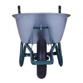 Тачка будівельна «КРОК» MARIBOR одноколісна 100 л/170 кг оцинкована