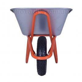 Тачка строительная «КРОК» MARIBOR одноколесная 90 л/170 кг оцинкованная
